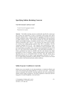 Cover of Specifying Sulfate-Resisting Concrete