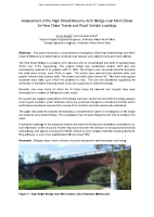 Assessment of High Street Masonry Arch Bridge Over Merri Creek for New Class Trams and Road Vehicle Loadings
