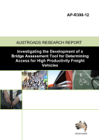 Cover of Investigating the Development of a Bridge Assessment Tool for Determining Access for High Productivity Freight Vehicles