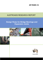 Cover of Design Rules for Bridge Bearings and Expansion Joints