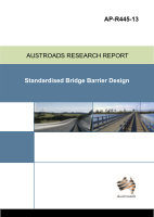 Standardised Bridge Barrier Designs