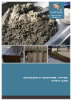 Specification of Geopolymer Concrete: General Guide