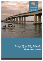 Cover of Realising 100-year Bridge Design Life in an Aggressive Environment: Review of the Literature