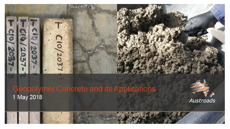 Webinar: Geopolymer Concrete and its Applications