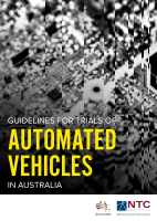 Guidelines for Trials of Automated Vehicles in Australia