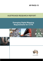Cover of Emerging Digital Mapping Requirements for C-ITS