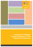 Cover of Cooperative Intelligent transport systems (C-ITS) Standards Assessment