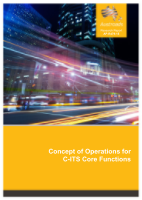 Concept of Operations for C-ITS Core Functions
