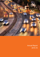 Cover of Austroads Annual Report 2015-16