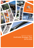Cover of Austroads Strategic Plan 2016-2020