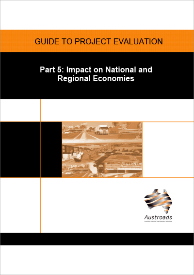 Cover of Guide to Project Evaluation Part 5: Impact on National and Regional Economies