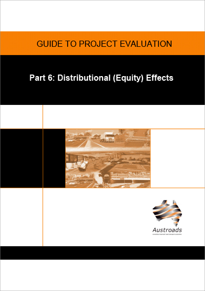 Cover of Guide to Project Evaluation Part 6: Distributional (Equity) Effects