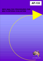 Cover of New Analysis Techniques for Multi-Criteria Evaluation