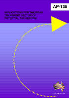 Cover of Implications for the Road Transport Sector of Potential Tax Reform