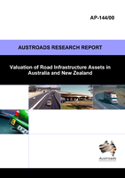 Cover of Valuation of Road Infrastructure Assets in Australia and New Zealand