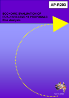 Cover of Economic Evaluation of Road Investment Proposals: Risk Analysis