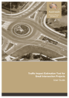 Cover of Traffic Impact Estimation Tool for Small Intersection Projects: User Guide