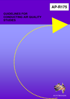 Cover of Guidelines for Conducting Air Quality Studies