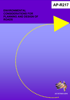 Cover of Environmental Considerations for Planning and Design of Roads + Reference CD ROM