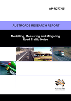 Cover of Modelling, Measuring and Mitigating Road Traffic Noise
