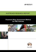 Pavement Wear Assessment Method for PBS Vehicles