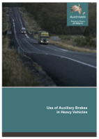 Use of Auxiliary Brakes in Heavy Vehicles