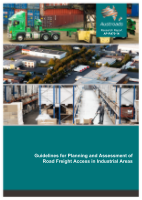 Cover of Guidelines for Planning and Assessment of Road Freight Access in Industrial Areas
