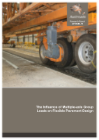 Cover of The Influence of Multiple Axle Group Loads on Flexible Pavement Design