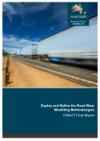 Deploy and Refine the Road Wear Modelling Methodologies: FAMLIT Final Report