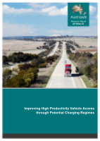 Improving High Productivity Vehicle Access through Potential Charging Regimes