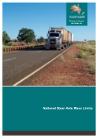 Cover of National Steer Axle Mass Limits