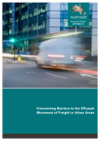 Overcoming Barriers to the Off-peak Movement of Freight in Urban Areas
