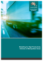 Cover of Modelling for High Productivity Vehicles in Metropolitan Areas