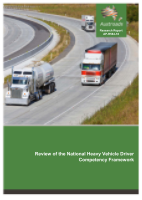 Cover of Review of the National Heavy Vehicle Driver Competency Framework
