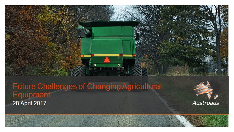 Webinar: Future Challenges of Changing Agricultural Equipment