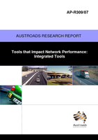 Cover of Tools that Impact Network Performance: Integrated Tools