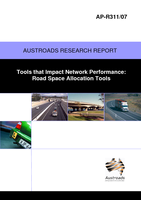 Cover of Tools that Impact Network Performance: Road Space Allocation Tools