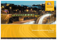 Cover of Congestion and Reliability Review: Summary