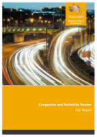 Cover of Congestion and Reliability Review: Full Report