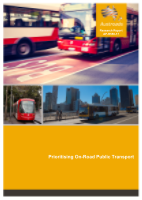 Cover of Prioritising On-Road Public Transport