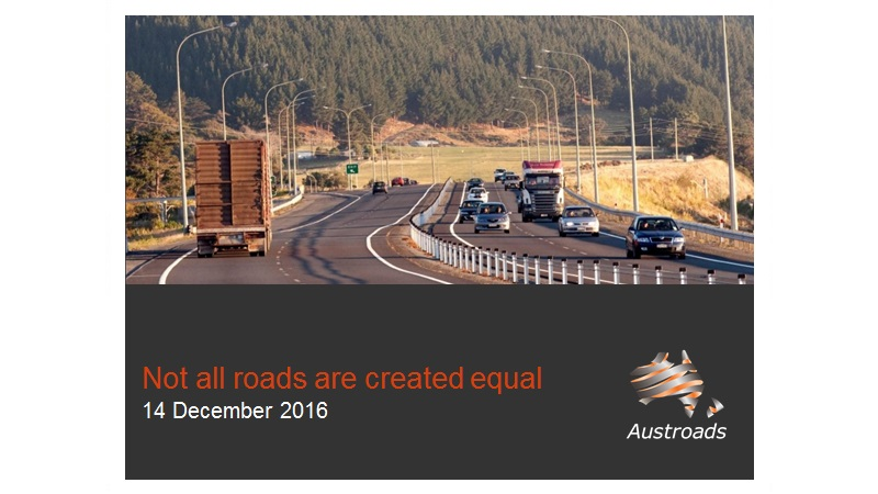 Cover of Webinar: Not All Roads Are Created Equal