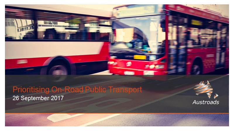 Webinar: Prioritising On-Road Public Transport