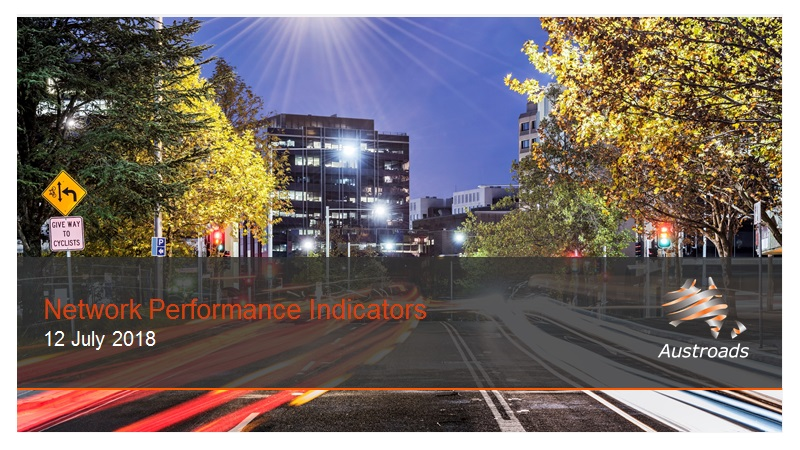 Cover of Webinar: Network Performance Indicators