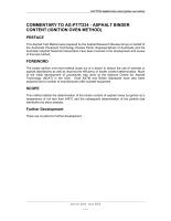 Asphalt Binder Content (Ignition Oven Method)