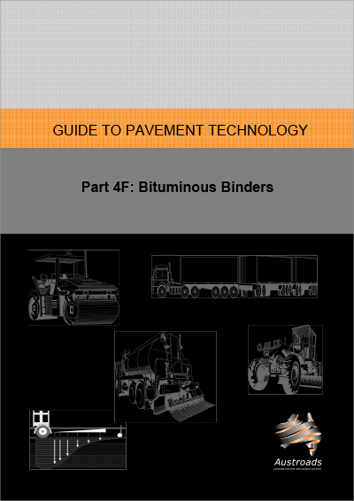 Cover of Guide to Pavement Technology Part 4F: Bituminous Binders