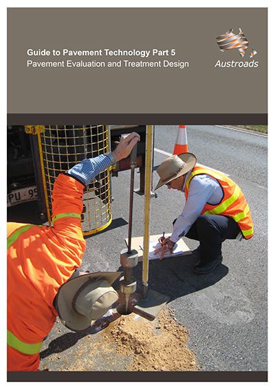 Cover of Guide to Pavement Technology Part 5: Pavement Evaluation and Treatment Design