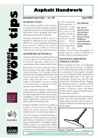 Asphalt Handwork