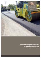 Cover of Improved Design Procedures for Asphalt Pavements
