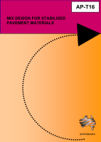 Cover of Mix Design for Stabilised Pavement Materials