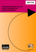 Progress Report on the 2001/02 National Mix Design Program